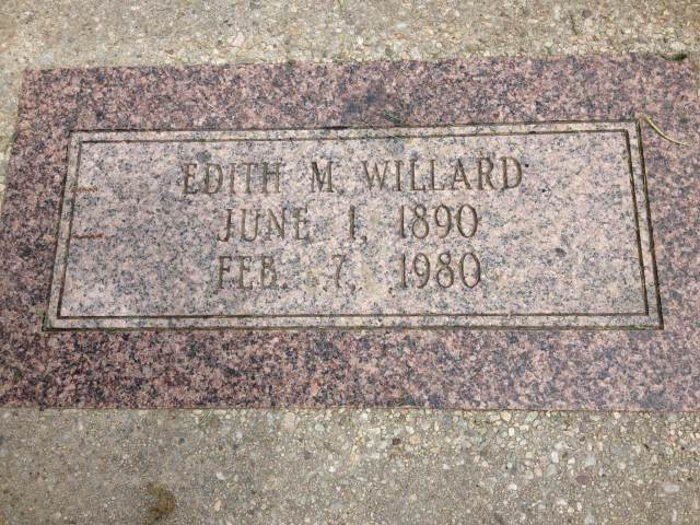 Edith McLaughlin Willard