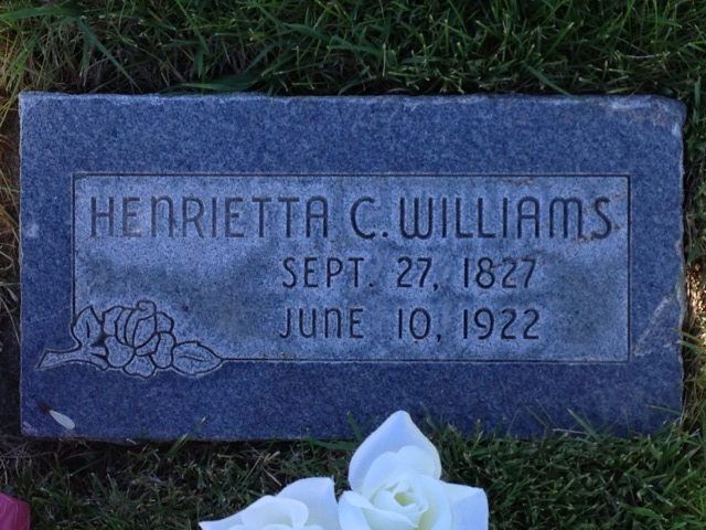 Henrietta C Williams