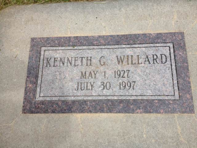 Kenneth G Willard