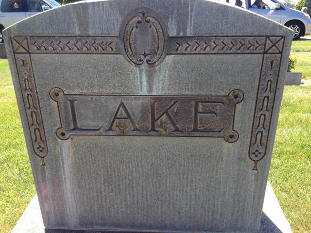 Lake Family Monument